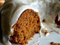 Pumpkin Spice Buttermilk Cake with Cinnamon Cream Cheese Frosting