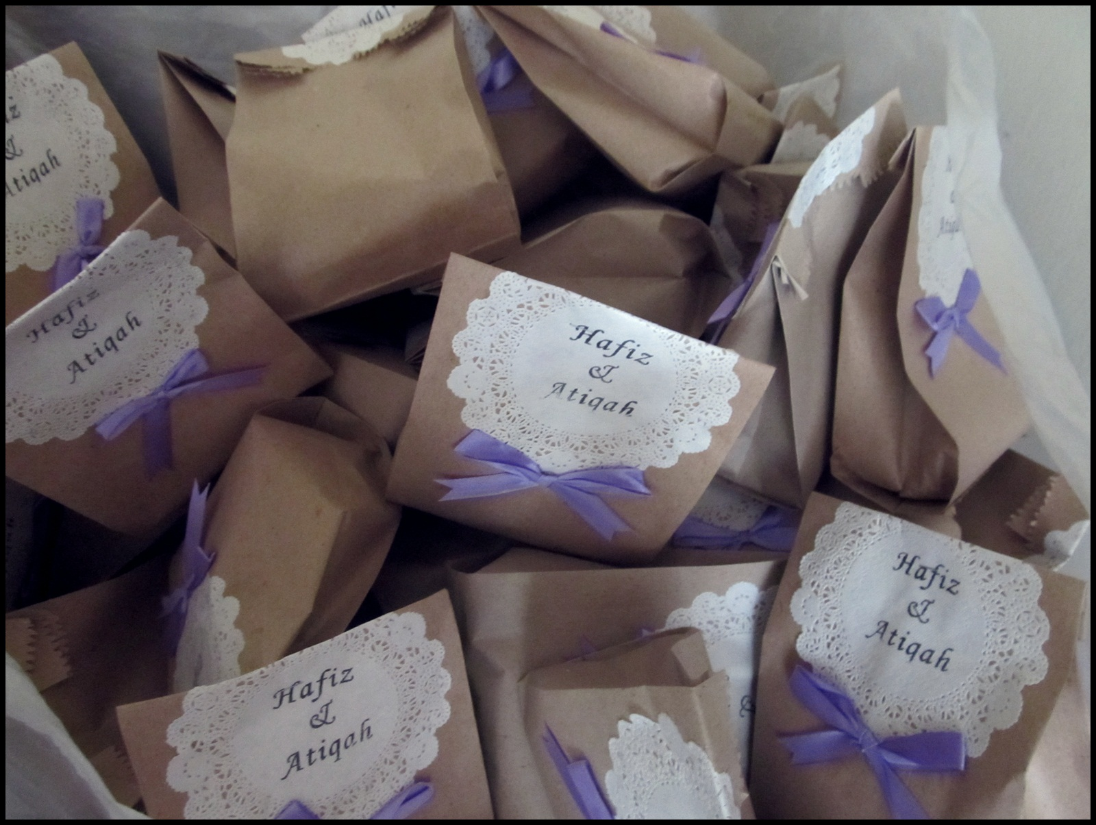 Door Gift For Wedding: Simple But Perfect By Cik 'Puan' Tqah: Wedding Review