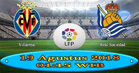 Prediksi Bola855 Villarreal vs Real Sociedad 19 Agustus 2018