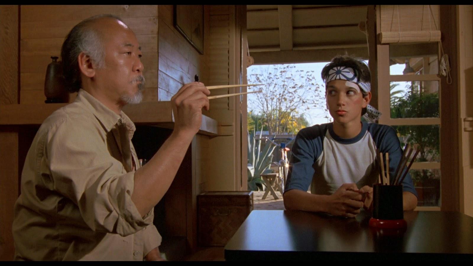 Karate Kid. Otra escena Papá e Hijo