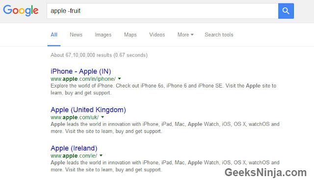 google tilde search use