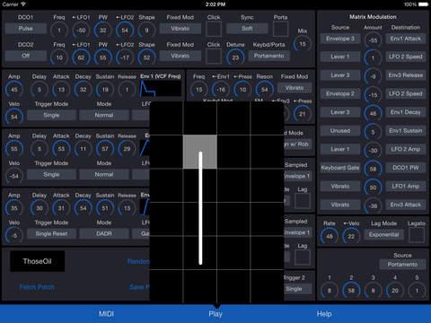 MATRIXSYNTH: Patch Touch: for Oberheim Matrix - Matrix-6/6r