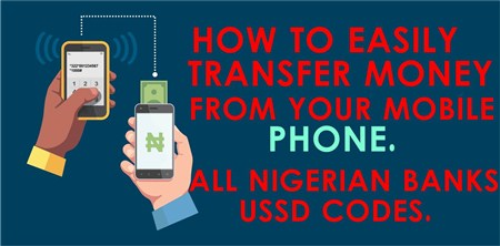 How To Transfer Money From Your Account Another Using Mobile Phone In Nigeria