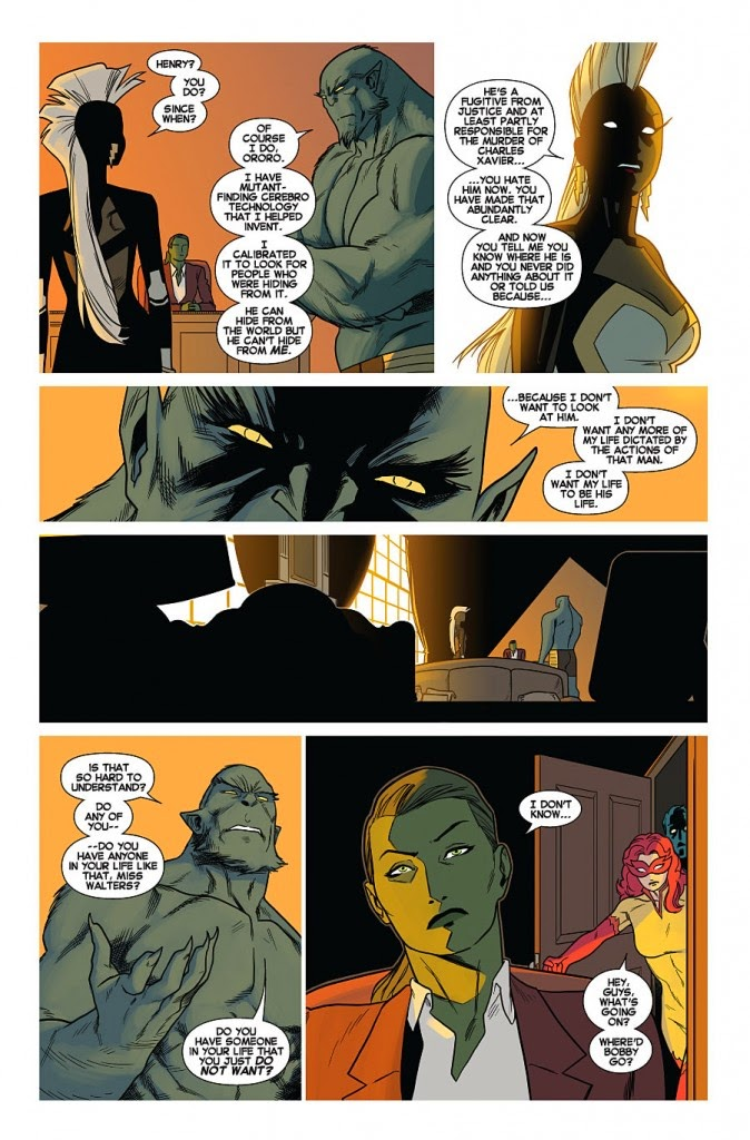 Uncanny X-Men She Hulk and the Will