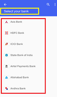 add bank account in google upi payment tez app
