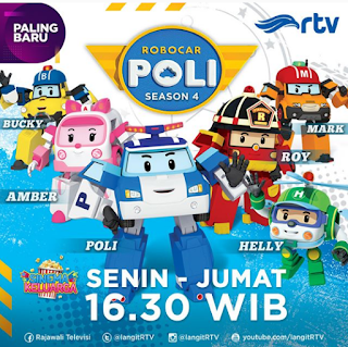 Video robocar poli season 4 bahasa indonesia RTV terbaru