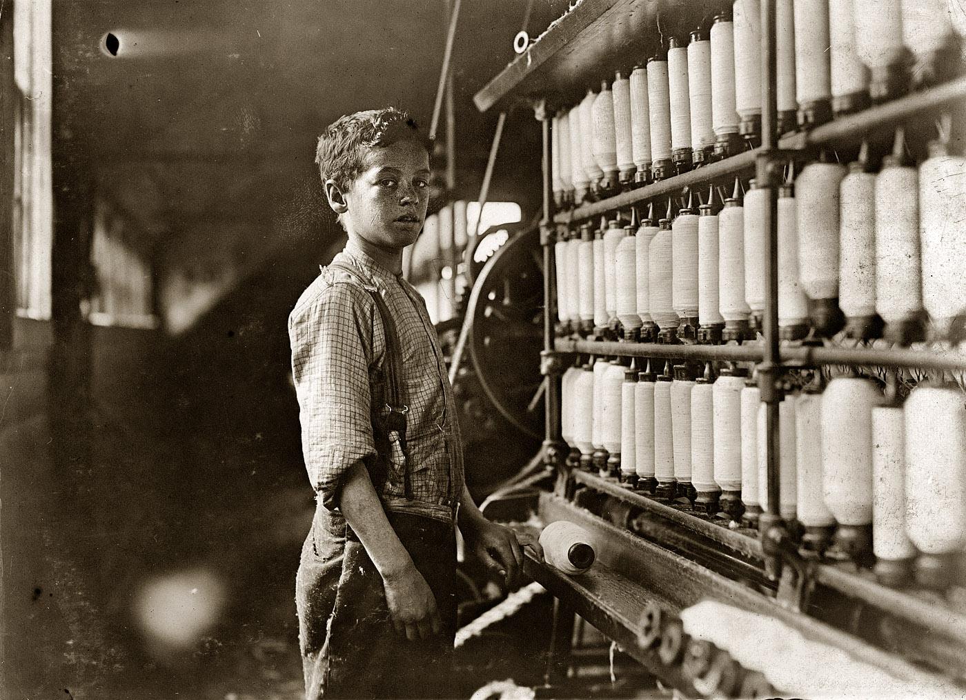 Blackchild Lewis Hine The Littlest Laborers