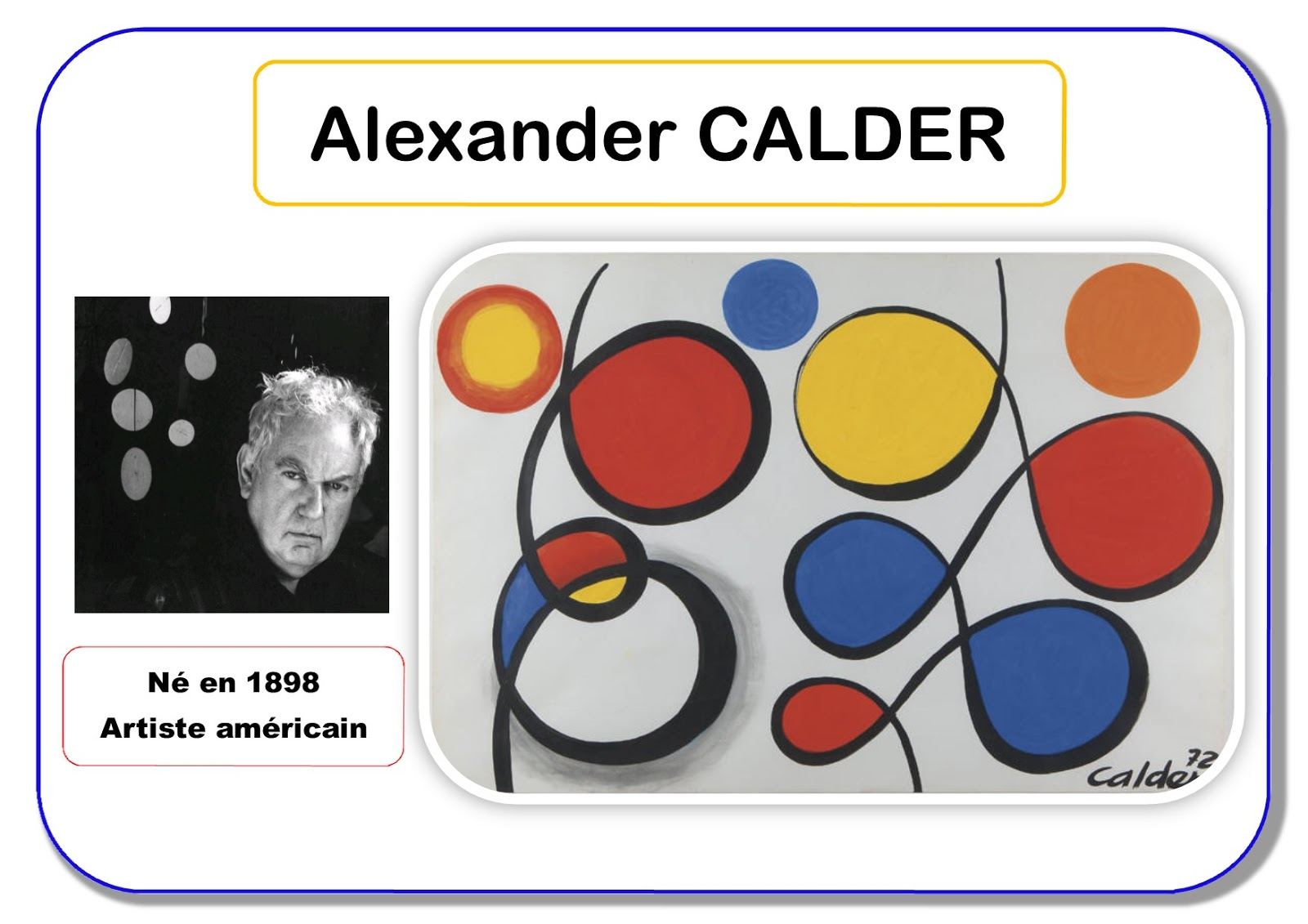 Résultat d'images pour boucle alexander calder