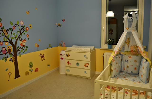diseño de sala de bebé