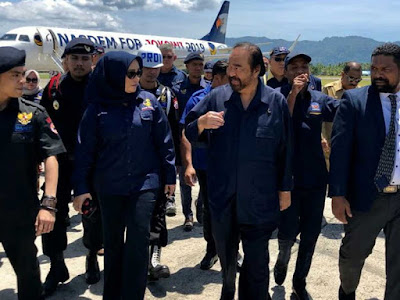 Temui Kader Nasdem di Maluku, Surya Paloh Kunjungi Ambon