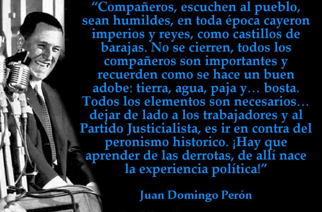 Frases No Tan Populares De Perón Que Valen La Pena Leer