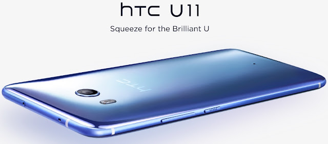 HTC unveils U11 in India for 51,900 rupess