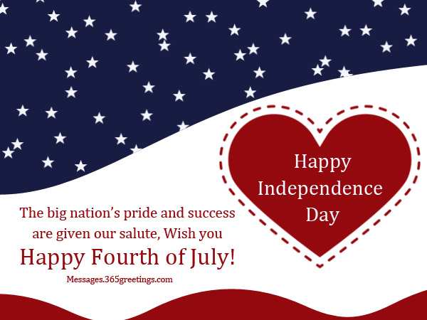 Happy 4th of July Messages SMS 2017