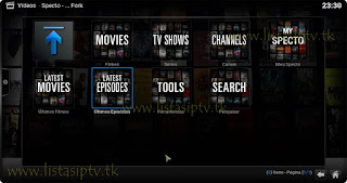 Add-On - Specto - KODI - The Killer Add-on Genesis - Filmes e Séries mais atualizados em HD e FULL HD