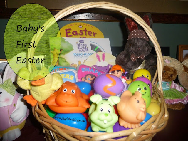 baby's first Easter, what to put in baby's first Easter basket, Easter basket ideas for babies, Easter basket ideas, Easter with baby, Easter,