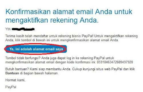 Cara Daftar Paypal Langkah 8