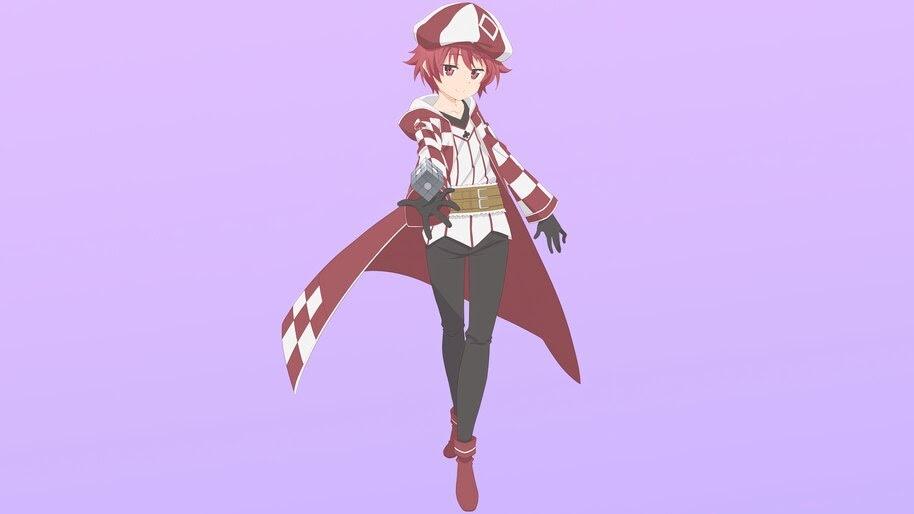 Kanade, Bofuri, Anime, 4K, #7.953