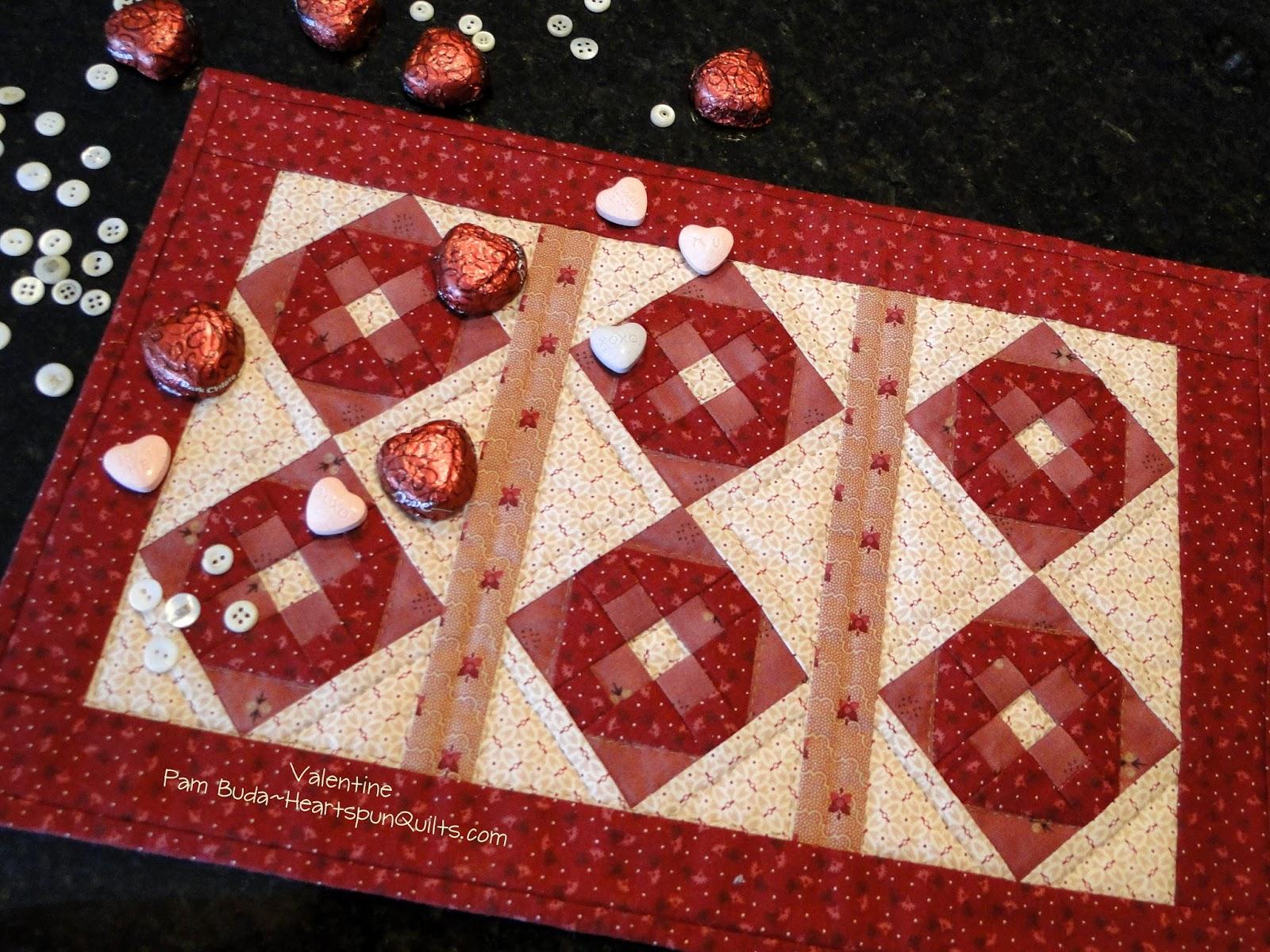 Heartspun Quilts Pam Buda Happy Valentine S Day
