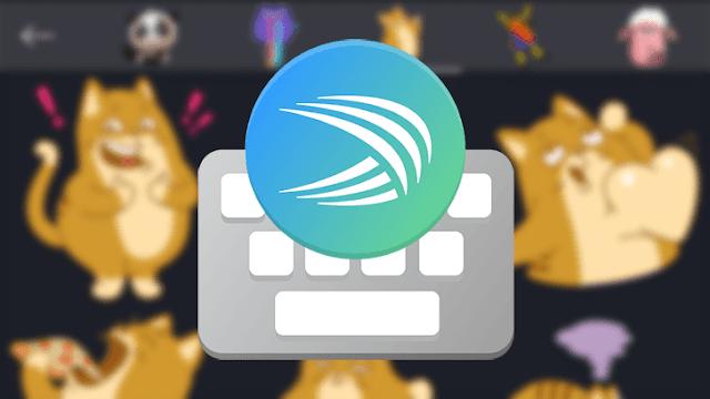 تحميل تطبيق Swiftkey  لوحة مفاتيح متميزة لهواتف الأندرويد