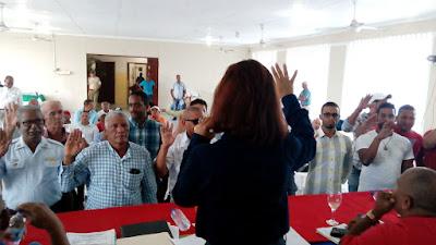 POSESIONAN NUEVOS FUNCIONARIOS EN EL AYUNTAMIENTO MUNICIPAL NAGUA