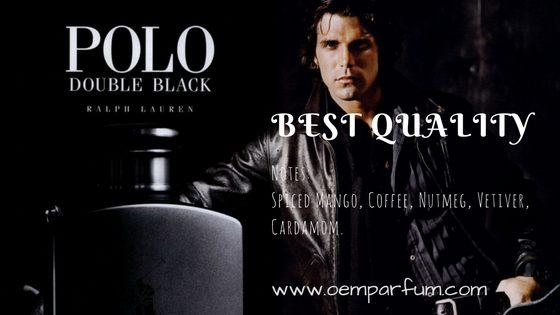 Polo Double Black For Men merupakan parfum yang memiliki paduan aroma pepper dan mango untuk memberikan keharuman khas bagi pria