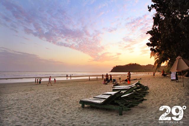 Stränder i Costa Rica - en överblick