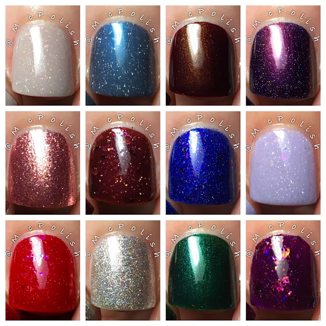 Pahlish - 12 Days of Christmas Collection - McPolish