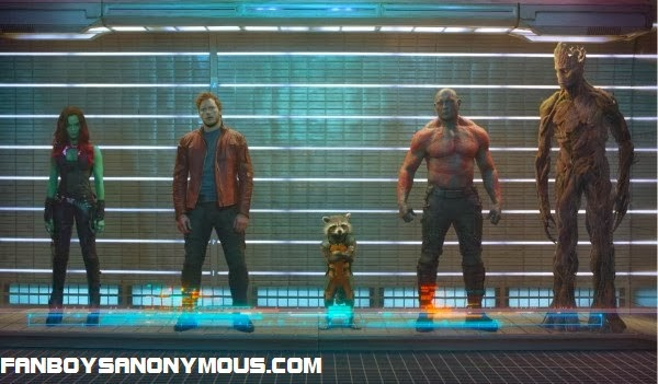 Watch the first trailer to the Guardians of the Galaxy directed by James Gunn on Fanboys Anonymous
