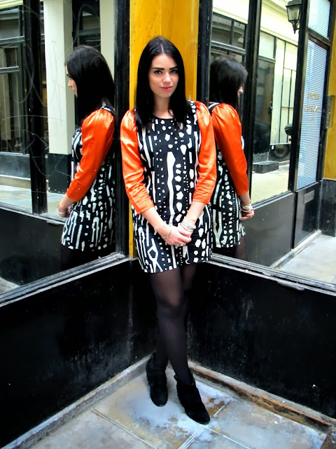 Fashion blogger Emma Louise Layla in Olivia Rubin