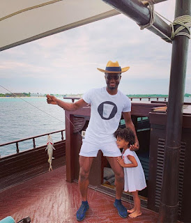 Mikel Obi And His Daughter Go Fishing (Photo)