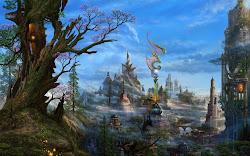 fantasy landscape nature hd landscapes wallpapers