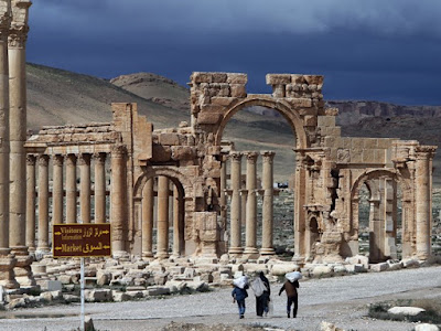 Palmira na Síria foi fundada por Salomão