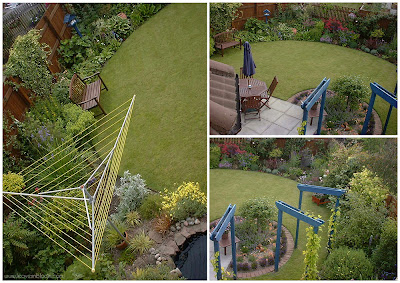 Summer in the back garden 2007