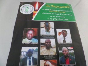 Ekiti doctors' death: NMA raises N20m for families