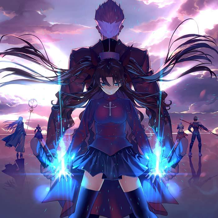"Anime 4k Wallpaper: Fate Stay Night Archer & Rin Theme ""Emiya UBW OST"
