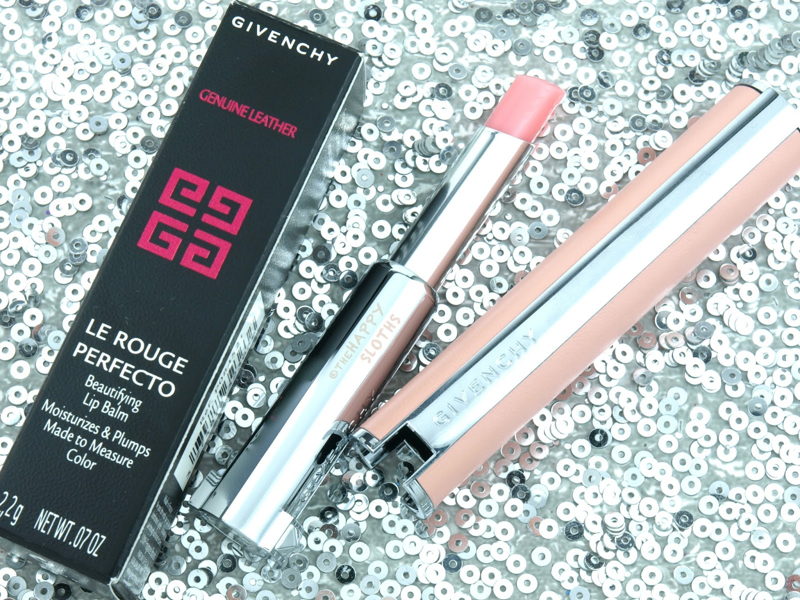 Givenchy Le Rouge Perfecto Beautifying Lip Balm Review and Swatches