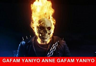 kafam yanıyor anne