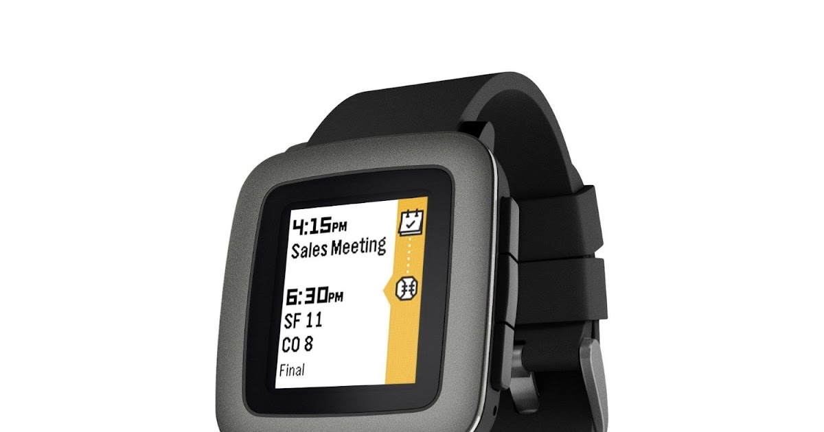 Home, Garden & More...: Pebble Time Smartwatch, Review ...