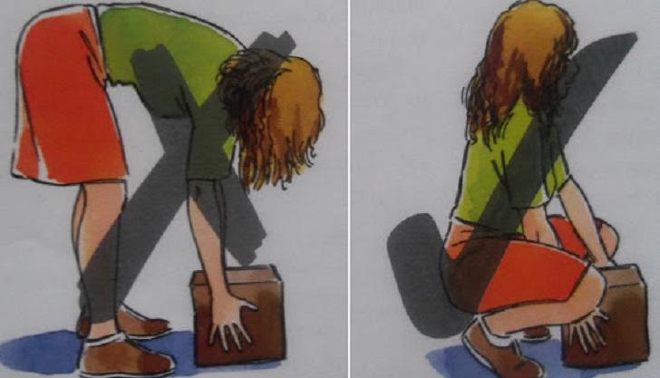 Handling posture