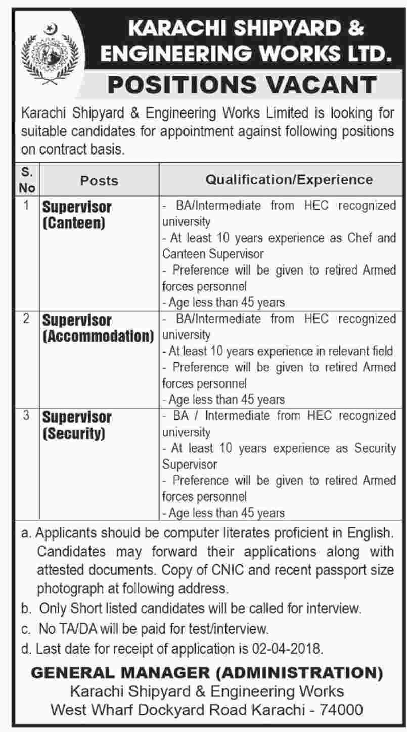 Karachi Jobs 2018, Jobs in Karachi