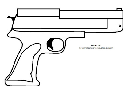 Mewarnai Gambar Senjata