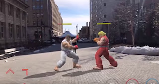 Ryu The legendary game Street Fighter will come to your iPhone with Augmented Reality Cydia