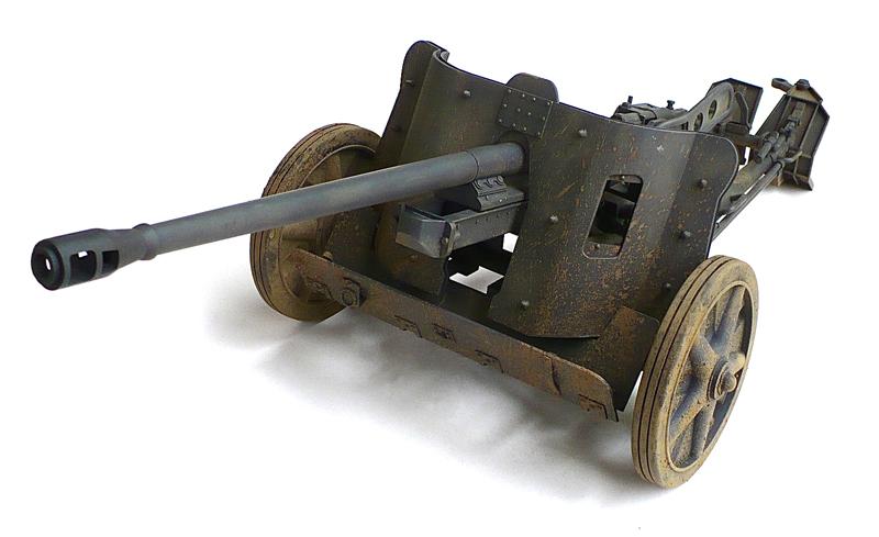 German 50 Mm Anti Tank Gun: The Great Canadian Model Builders Web Page!: 5cm Pak 38