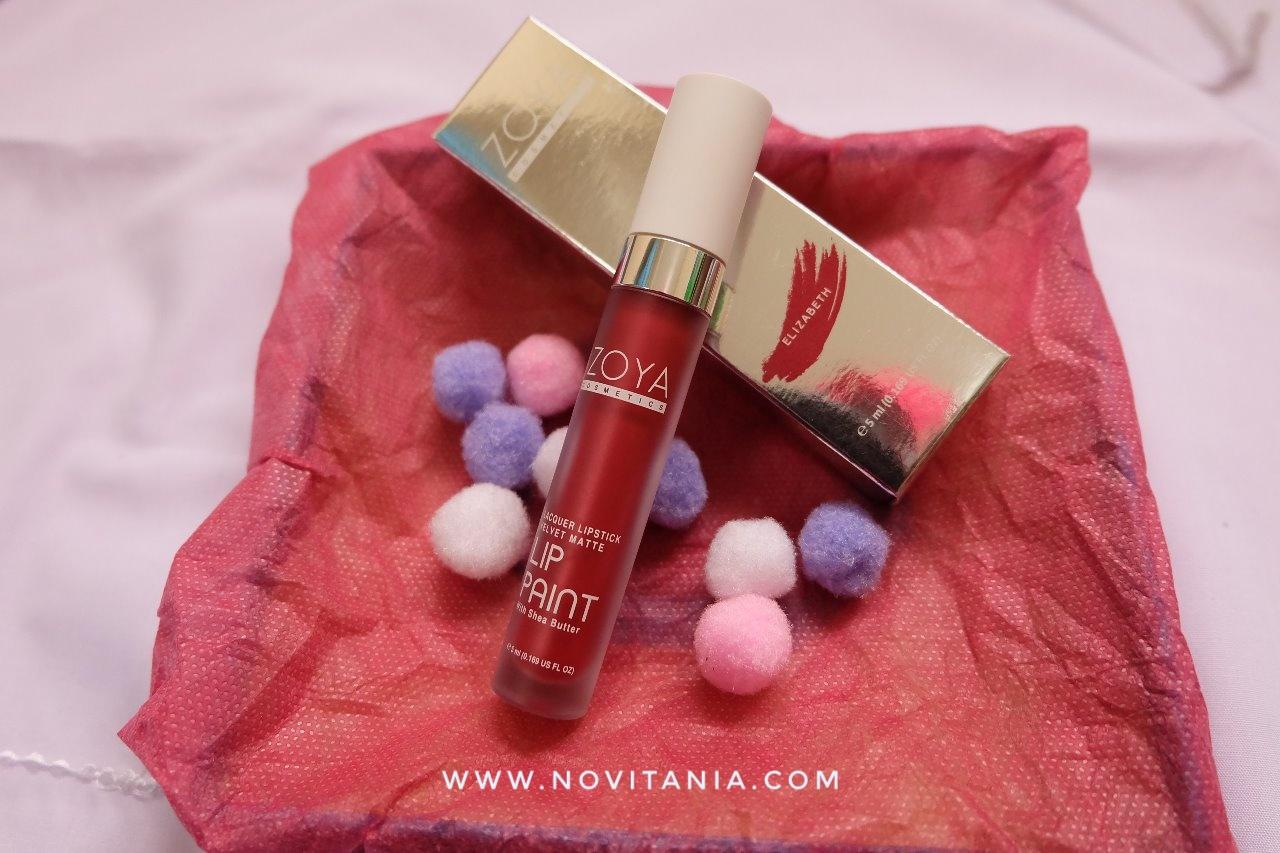 Review Zoya Lip Paint Elizabeth Limited Edition Diary Novitania Ngomongin Soal Gincu Alias Pewarna Bibir Memang Nggak Pernah Ada Abisnya Perempuan Itu Bosan Explore Berbagai Warna Ke Bibirnya