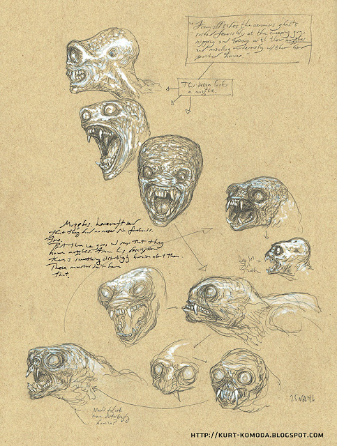 drawing is neat ghastly ghouly hp lovecrafts ghouls