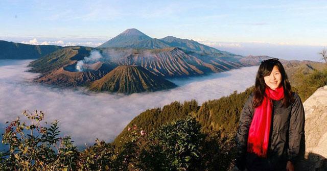 Menikmati Indahnya Pagi Di Gunung Bromo