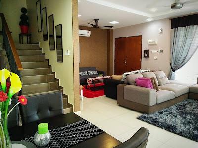 dekorasi ruang keluarga dan ruang tamu