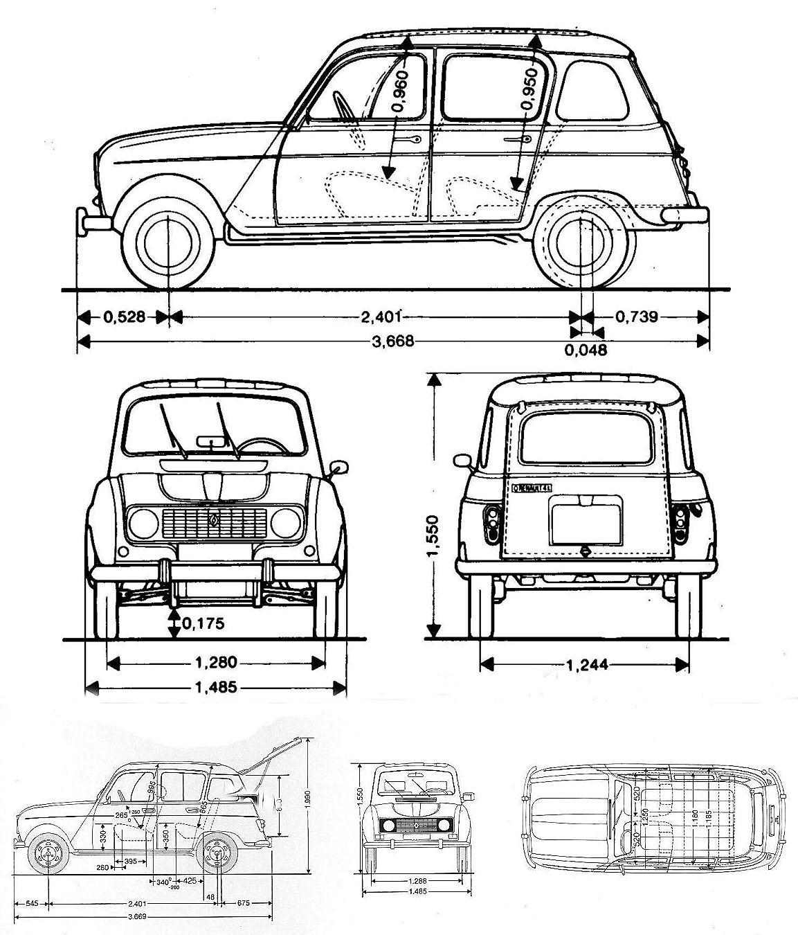Archivo De Autos Renault 4 Un Utilitario Francs Light Sensorldr Ofalightsensorcircuitwhenthelight Symbol3sir Las Dimensiones Del Arriba Modelo 1977 Y Abajo Tl 1988 Espaa