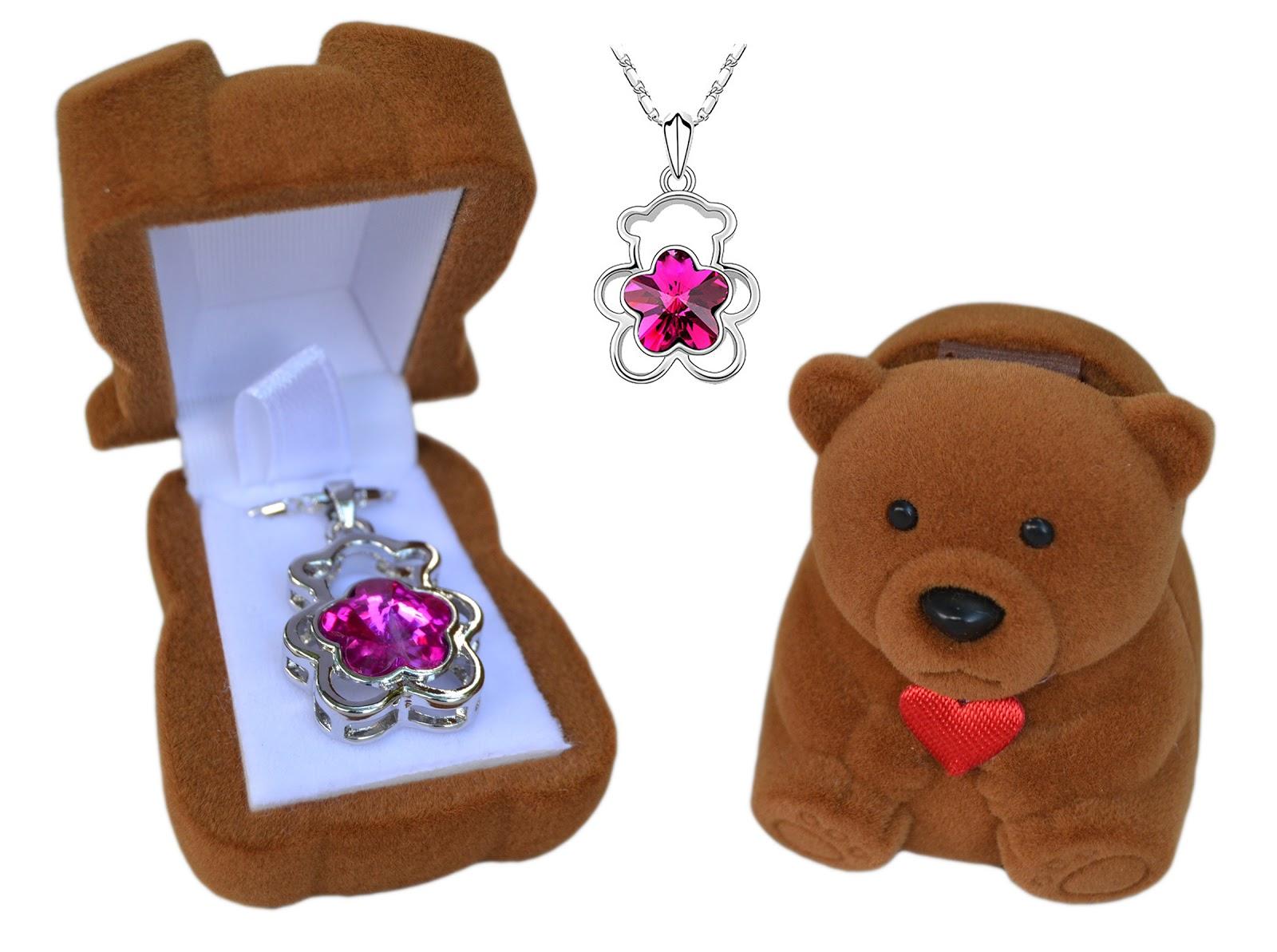 Box Me Not Jewelry Teddy Bear Set #BoxMeNotJewelry - Amy