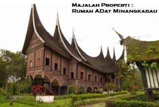 Desain Bentuk Rumah Adat Minangkabau dan Penjelasannya, Rumah Adat Sumatera Barat